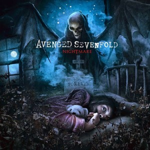 cover of nightmare by avenged sevenfold