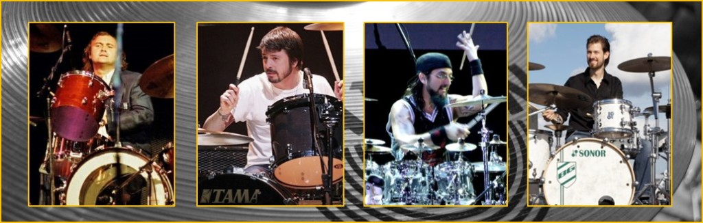 name the drummer with phil collins, dave grohl, mike portnoy, benny greb
