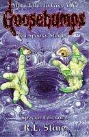 r l stine goosebumps ten spooky stories horror anthology
