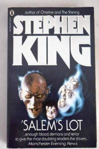cover of horror classic salems lot by stephen king