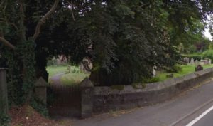 wilton church graveyard near salisbury